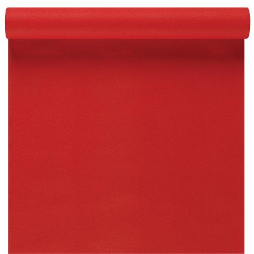 Susy card 11094794 - runner centrotavola décor, in materiale espanso, 3 m x 40 cm, colore: rosso