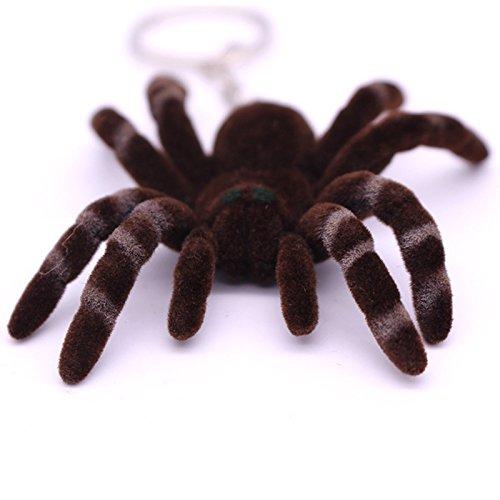 KnSam Schlüsselanhänger Schutzengel Fahrzeugschlüssel Haustier 12 Stil für Damen und Herren Spinne [Neuheit Schlüsselbund]