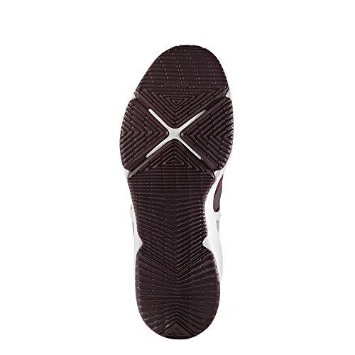 adidas Crazytrain CF W, Chaussures de Fitness Femme, Noir Multicolore - rouge/argent (Rojnoc/Rubmis/Plamet)