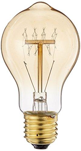 Preisvergleich Produktbild KJLARS 3X Vintage Edison Glühbirne Glühlampe E27 60W A19 Birne Für Retro Nostalgie Beliebte Dekoratives Leuchtmittel