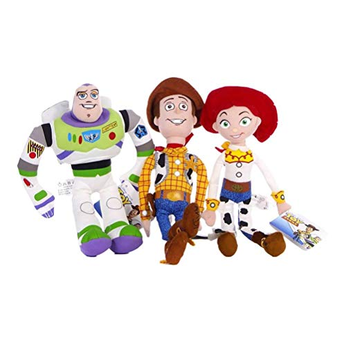 (Disney Toy Story Buzz, Woody & Jessie 8 Inch Plush Set)