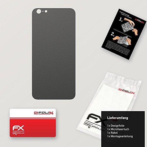 "Skin Apple iPhone 6 Plus ""FX-Variochrome-Spectral"" Sticker Autocollant FX-Soft-Silver-Grey"