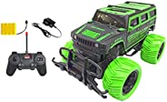 Popsugar 1:20 Off Roader Monster Truck with Remote Control Rechargeable Toy for Kids,