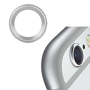 Bislinks® Métallique arrière caméra lentille couvrir anneau protecteur Silver for iPhone 6