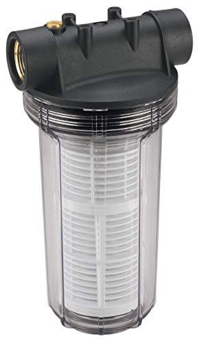 """Einhell 25 cm Vorfilter Pumpen-Zubehör (Entlüftungsschraube, Messing-Innengewinde 33,3 mm (1"""") IG, max. Druchfluss 4300 l/h)"""