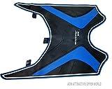 #9: AOW Attractive Offer World Tow Wheeler Foot MAT (Blue) New Design Type-1 for Honda Activa 4G