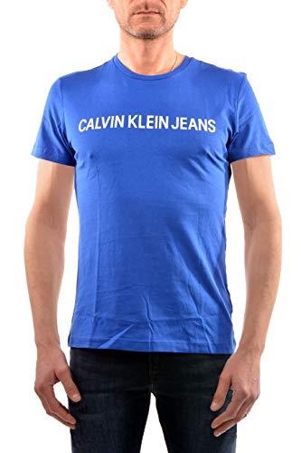 T-shirt calvinklein jeans men institut blue xxl blue