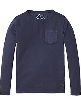 Scotch & Soda Shrunk Jungen Garment Dyed T-Shirt