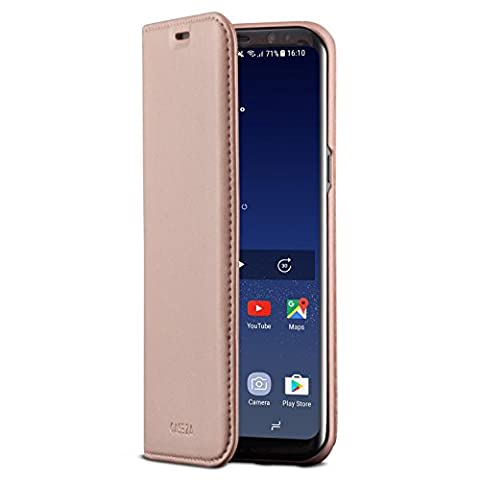 Galaxy S8 Flip Case Rose Gold - CASEZA