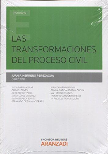 Transformaciones del proceso civil,Las (Monografía)