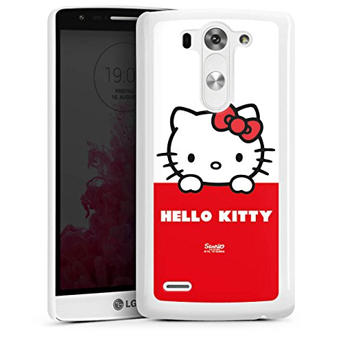 LG G3 S Hülle Case Handyhülle Hello Kitty Merchandise Fanartikel Cute Kawaii (Hello Kitty Cases Für Lg G3)