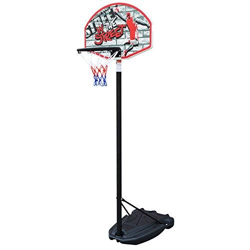 Basketballkorb, Mobil Basketballständer für Kinder in Outdoor und Indoor, 140 - 190CM