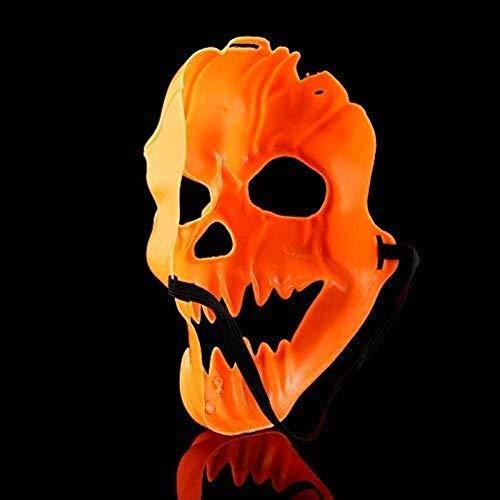 NA Halloween Kürbis Schädel Maske Horror Scary Maske Full Face Party Maske für Erwachsene Realistische Weiblich Männlich Masken Maskerade