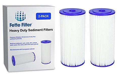 2er Pack-Culligan r50-bbsa Heavy Duty Kompatibel Sediment Filter. Ersetzt Auch ge FXHSC, Pentek r50-bb und Dupont wfhdc3001. Ganze Haus Filter
