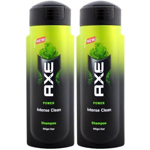 Axe Shampoo Intense Clean, gegen fettiges Haar/ 2x 300ml/ intensive Reinigung