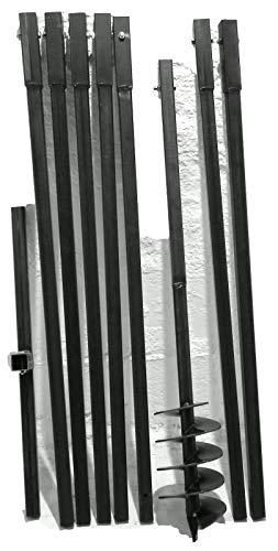 MWS-Apel 150/8 meter Erdbohrer Brunnenbohrer Handerdbohrer Erdlochbohrer Brunnenbau Pfahlbohrer brunnenbohrgerät