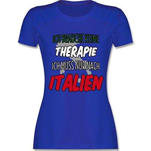 Länder - Ich brauche keine Therapie ich muss nur nach Italien - tailliertes  Premium T-