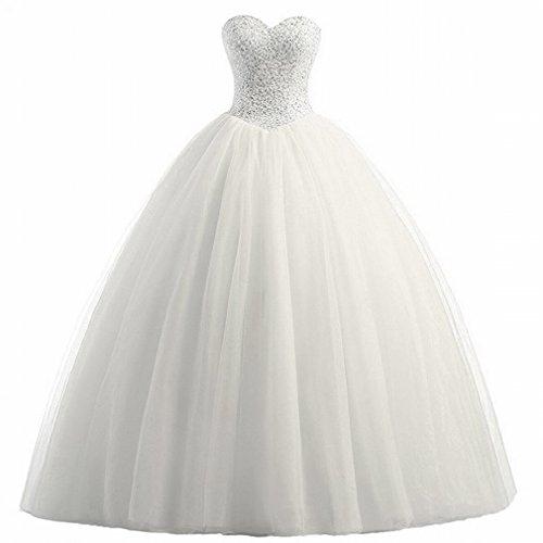 SED Prinzessin Qi Tube Top Hochzeitskleid War Dünn und Einfach Hochzeit Brautkleid,B,S