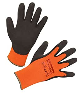 KERON Powergrab Thermo Gants pour Élevage/Agriculture Urbaine Orange Taille 8