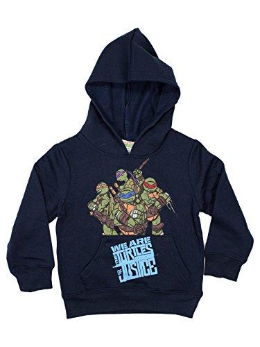 Turtles Ninja Official Boys Hoodie Long Sleeve 3Years Blue (Turtle Kinder Hoodie Ninja)