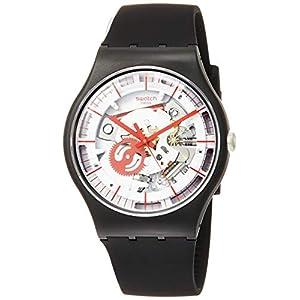Swatch Reloj Analógico para Hombre de Cuarzo con Correa en Silicona SUOB153