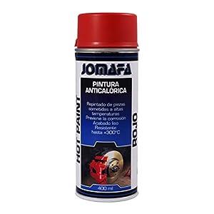 JOMAFA – PINTURA ANTICALORICA ROJA 400ml