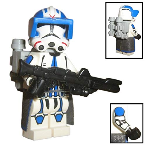 Custom Brick Design 501st Legion Jet Clone Trooper Figur V.1 - Customized by CBD (Jet-blaster)