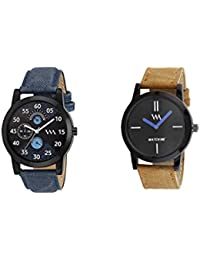 Watch Me Gift Combo Set For Him/Watches For Men/Watches For Boys (watches 3 Combo/watches 2 Combo) WMC-002-BR-AWC... - B0778C7RCK