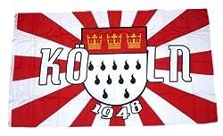 FC K/öln Fahne//Stockfahne 100 x 150 cm ** Wappen ** 1