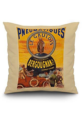 pneumatiques-bergougnan-le-gaulois-vintage-poster-france-c-1905-20x20-spun-polyester-pillow-cover-cu