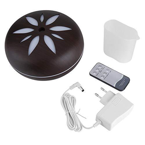 220 V 550 ml 7 LED Ultrasónico Humidificador Aroma aceite esencial difusor mando a distancia, 1.00V