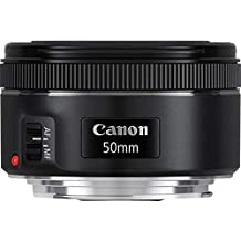 Canon EF50MM F/1.8 STM Lens for Canon DSLR Cameras