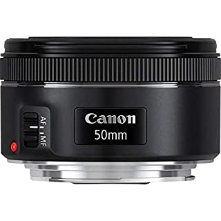 Canon 0570C005AA - Objetivo para cámara réflex (EF 50 mm, F/1.8 STM), color negro (B00XKSBMQA) | Amazon price tracker / tracking, Amazon price history charts, Amazon price watches, Amazon price drop alerts