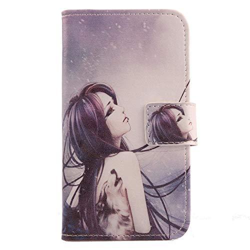 Lankashi PU Flip Leder Tasche Hülle Case Cover Handytasche Schutzhülle Etui Skin Für HiSense King Kong 4 Pro 6.18