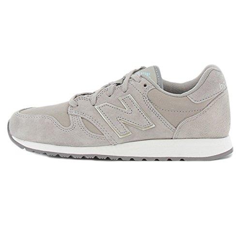 New Balance Damen WL520-RM-B Sneaker, grau, 40 EU