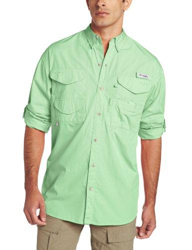 Columbia Herren Bonehead Langarm Shirt, Key West, Mittel (Sec-shirt)