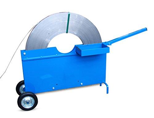 Abrollwagen für Verpackungsstahlband Scheibenwicklung 10 bis 19 mm Bandbreite ** Verpackungseinheit: 1 Stück **