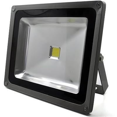 50W WARMWEISS - LED Flutlicht Fluter Strahler Scheinwerfer Licht objektbeleuchtung SMD IP65 von Osterdrachen