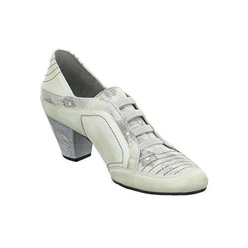 Maciejka 0279703005, Zapatos Con Cordones De Mujer Grises