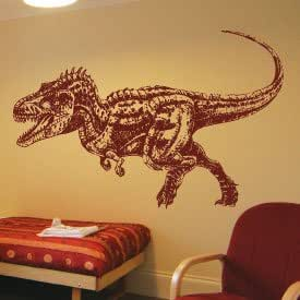 Extra Large Dinosaurs Art Wall Quotes / Wall Stickers / Wall Decal-Apple Green