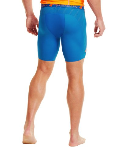 Under Armour Herren Fitness Hose und Shorts Vent Comp Blue