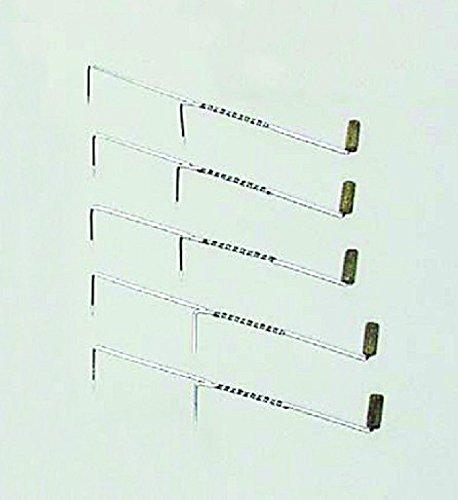 5 Räucherhaken rostfrei mit Doppelhaken zum Räuchern