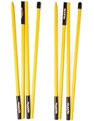 PrideSports Golf Alignment Stick (Set of 2), Yellow