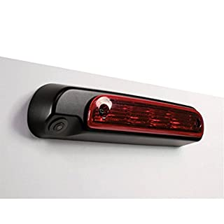 Caratec Safety CS110B Bremslichtkamera für versch. Modelle ab Okt. 2014, Rückfahrkamera ins Bremslicht integriert, schwarz, für FIAT Ducato, Peugeot Boxer und CITROËN Jumper ab 2006 (X250 und X290)