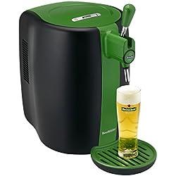 Seb VB310310 Machine à Bière Pression Beertender Tireuse à bière Pompe Fût 5L Vert et Noir