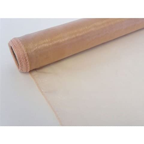 Smithers Oasis Organza Fabric Roll 9Metres x 40cm Antique Pink (Item Code: 72213)
