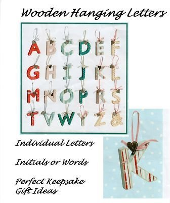 Xpressions 4 U Wooden Hanging Letters Keepsake Gifts Initials Or Names Y by Love Home