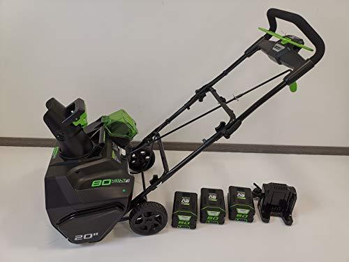 Greenworks Tools 80V Akku Schneefräse + 3x2Ah Akku + Ladegerät (2600107VE)