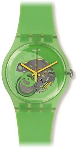 Swatch SUOG110 - Orologio da polso Unisex, Silicone, colore: Verde