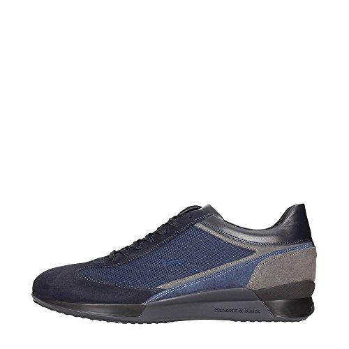 Harmont & Blaine E7061673 Sneakers Uomo Scamosciato BLU BLU 44